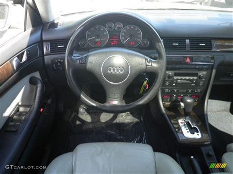 2002 Audi S6 42 Quattro Avant Silver Dashboard Photo