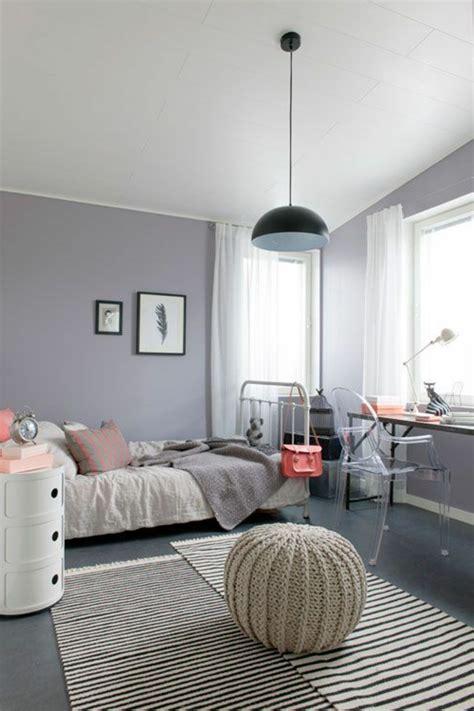 chambre avec mur en 44 idées pour la chambre de fille ado