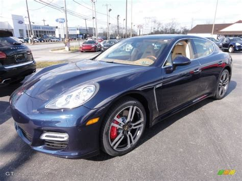 2012 Dark Blue Metallic Porsche Panamera Turbo 61344188