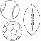 Coloring Ball Soccer Pages sketch template