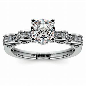 wishes will come true with this cinderella engagement ring With cinderella wedding rings