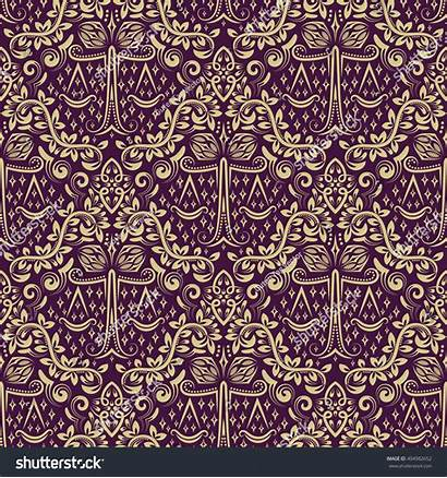 Repeating Pattern Gray Damask Seamless Repeatable Shutterstock