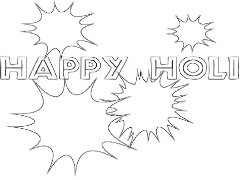 happy holi   coloring pages  painting happy