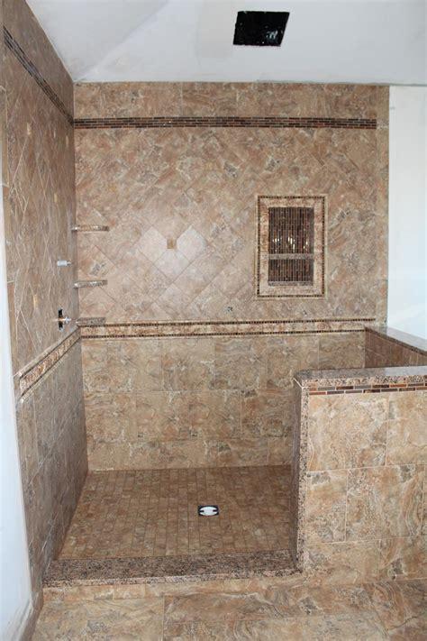 Bathroom Tile Ideas For Shower Walls Custom Porcelain Tile Shower New Jersey Custom Tile