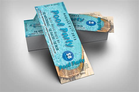 event ticket template psd images event ticket template