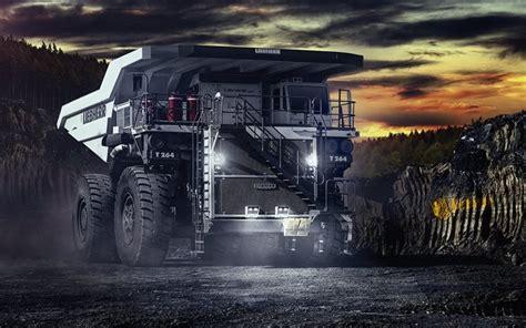wallpapers liebherr  trucks big trucks