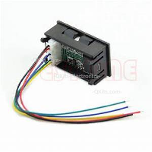 Led Volt And Amp Meter With External Shunt Quality