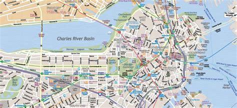Map of Boston Massachusetts: Interactive and Printable ...