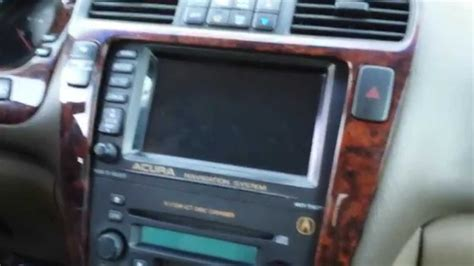 2002 Acura Mdx Navigation System by How To Remove Navigation Radio From Acura Mdx 2002 For