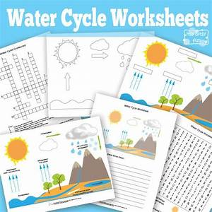 Free Printable Water Cycle Worksheets   Diagrams