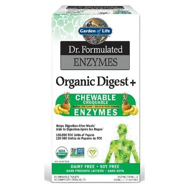 Garden Of Enzymes by Buy Garden Of Dr Formulated Enzymes Organic Digest