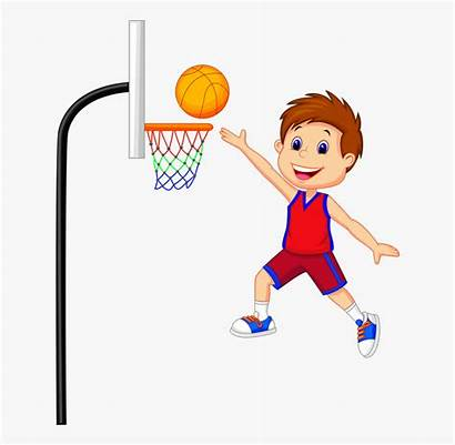 Basketball Clipart Playing Play Transparent Town Clipartkey
