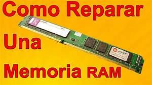Como Reparar la Memoria Ram DDR de mi PC Paso a Paso