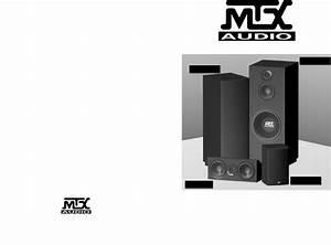 Mtx Audio Speaker System Monitor12 User Guide