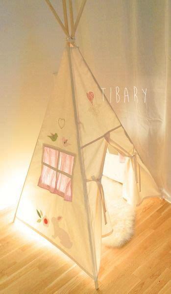 Tipi Zelt Kinderzimmer Dawanda by Romantisches Tipi Teepee Zelt Tibary Auf Dawanda