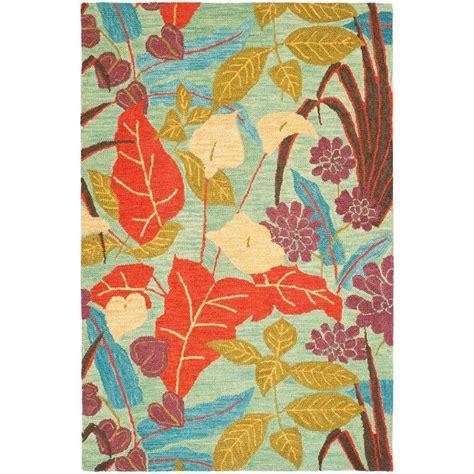 safavieh blossom rug safavieh blossom blue multi 5 ft x 8 ft area rug blm674a