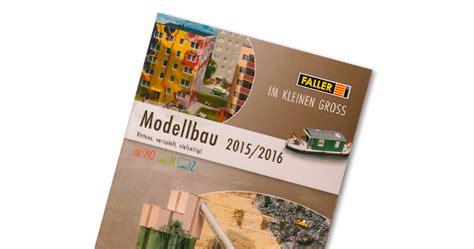 FALLER 190904 Faller Katalog 2015  2016 mit Preisliste