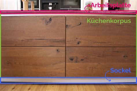 Arbeitshöhe Küche Berechnen by Beeindruckende K 252 Che Arbeitsplatte H 246 He Betreffend Die