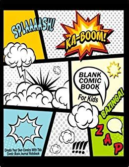 blank comic book  kids create   comics
