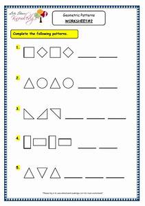 Geometric Patterns Worksheets - Calleveryonedaveday