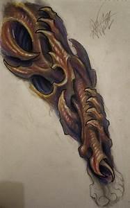 Bio Organic Leg Sleeve by JWheelwrighttattoos on ...