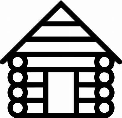 Cabin Clipart Icon Svg Transparent Blokhut Icons