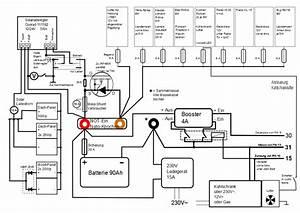 Wohnmobil Selbstausbau Elektrik : schaltplan strom camper van motorhome und camper ~ Jslefanu.com Haus und Dekorationen