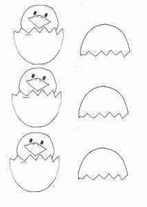 Easter Craft  Hatched Egg Chicky  Template   U2013 Be A Fun Mum