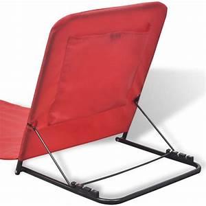 acheter vidaxl tapis de plage pliable avec dossier 2 pcs With tapis rouge avec vidaxl canapé