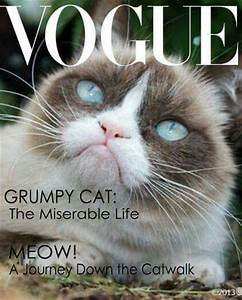 Grumpy Cat Made The Cover Of Vogue! | Grumpy Cat ...