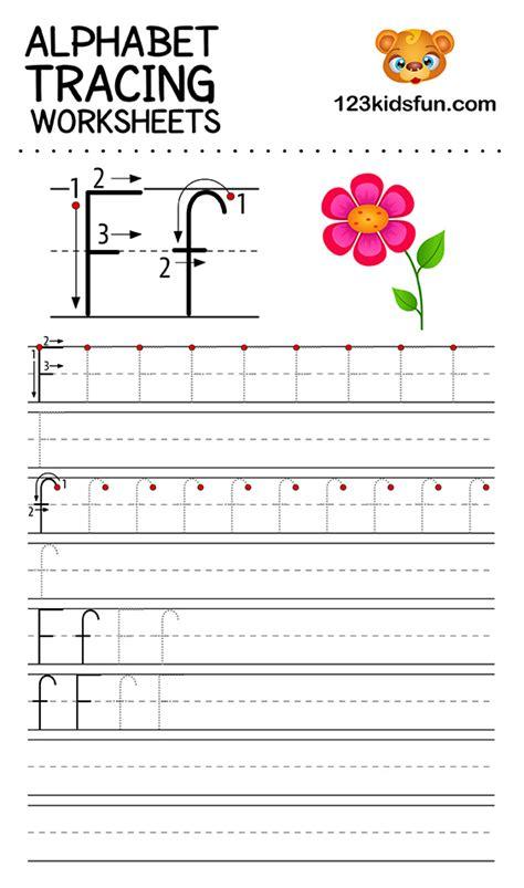 alphabet tracing worksheets    printable  kids  kids fun apps