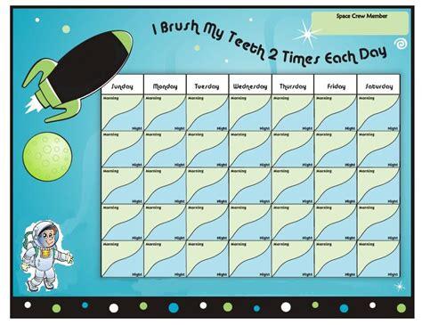 Tooth Brushing Chart Option