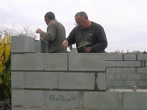 Monter Mur En Parpaing : construction de mon abri de jardin dernier rang de ~ Premium-room.com Idées de Décoration