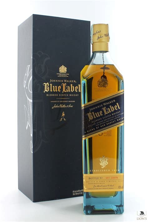 walker johnnie label tiffany 70cl types whisky scotch