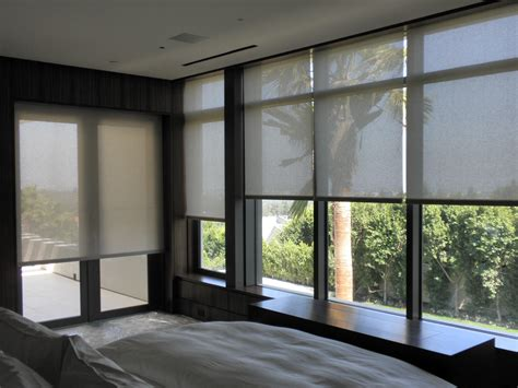 motorized roller blinds effective shading solutions motorized shading advantages