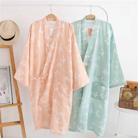 cotton bathrobes summer cotton robes for women cotton
