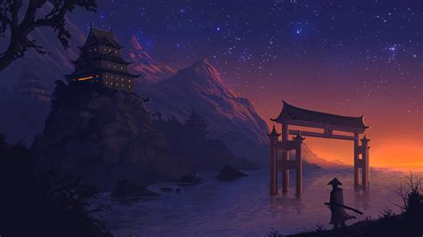 Anime Wallpaper Landscape - landscape anime digital