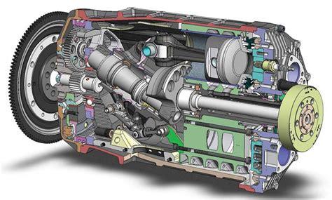 duke axial prototype engine   camshafts pushrods