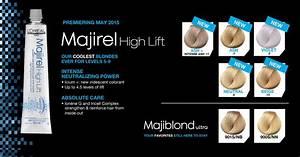 L 39 Oréal Professionnel Majirel High Lift 5 New Shades