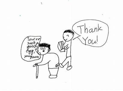 Grammar Cartoons Idiom Water Intermediate