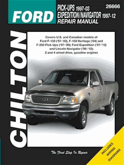 car repair manuals online pdf 1999 lincoln navigator on board diagnostic system ford f150 f250 expedition lincoln navigator repair manual 1997 2012