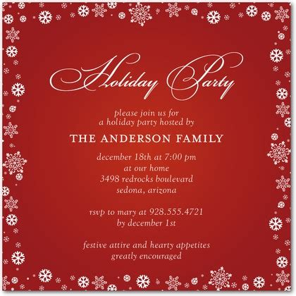 invitations ideas - Invitation For Christmas Party