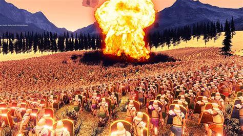simulator battle epic ultimate vs nuke romans