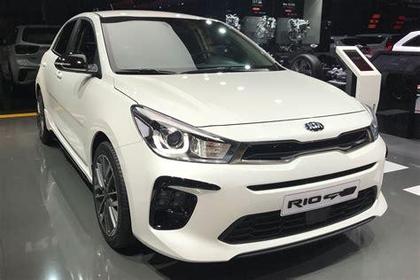 kia rio gt  debuts  geneva motor show auto express