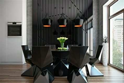 muebles de comedor de colores oscuros  ideas