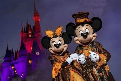 Halloween Scary Mickey Party Days Orlando Vacation