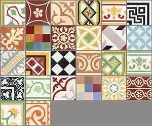 carreaux de ciment les patchworks couleurs matieres With carreaux de ciment couleur