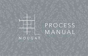Nougat Process Manual By Selena Chen