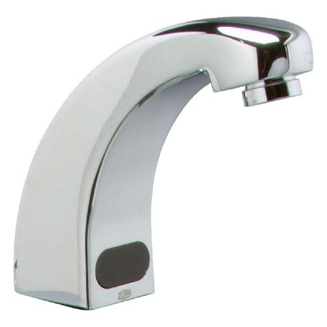 zurn single hole touchless bathroom faucet battery powered