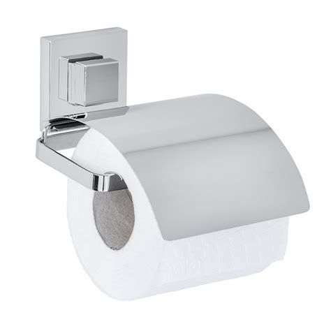 wc papierhalter ohne bohren fehr badshop wc papierhalter wenko quadro cover vacuum